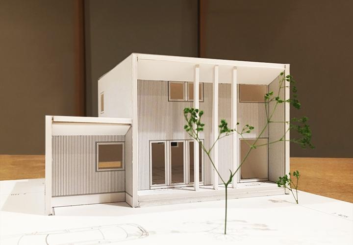 2017年コンセプトモデルハウス模型1